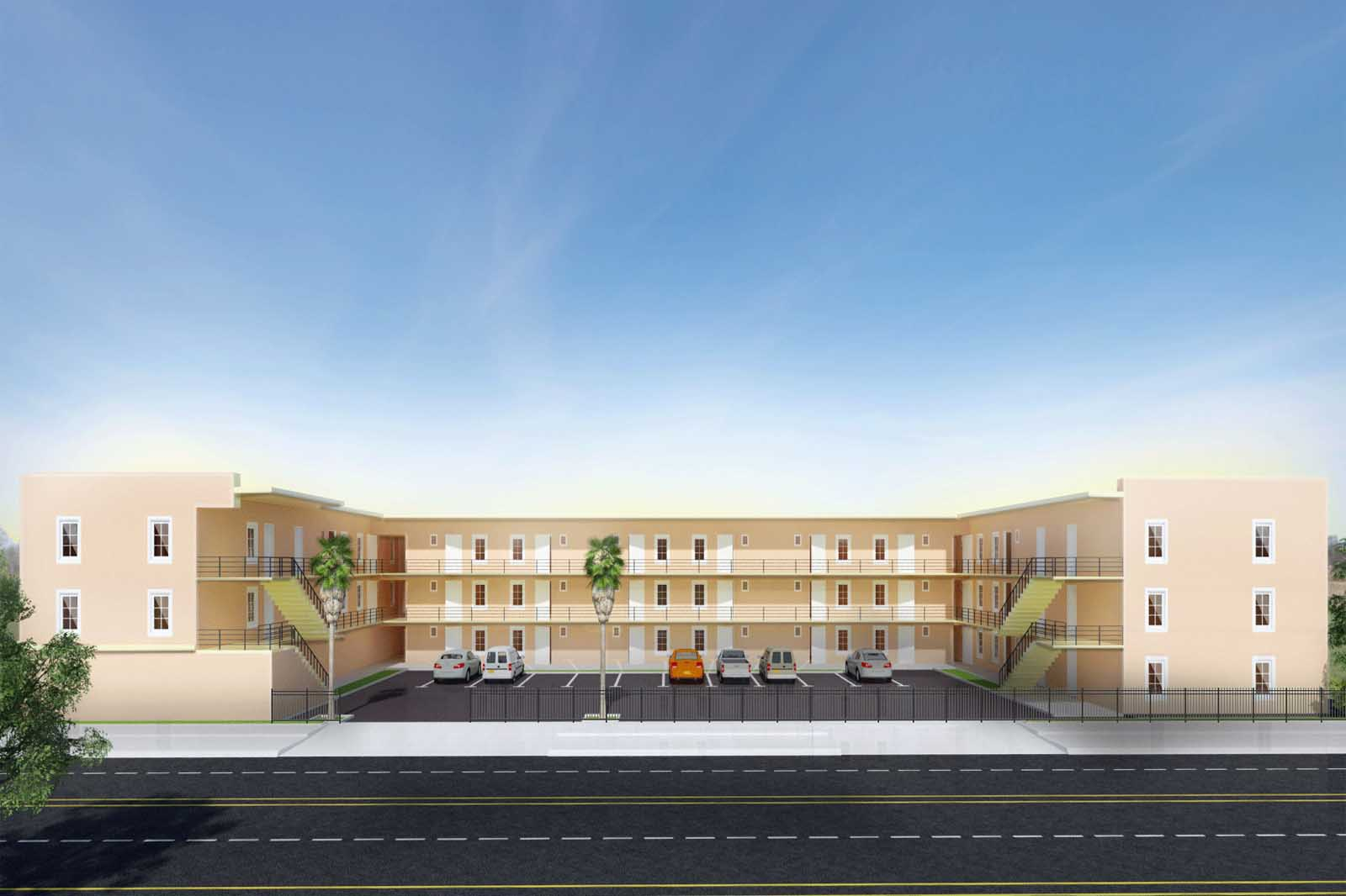 Federal Projects Developers- Architectural Rendering