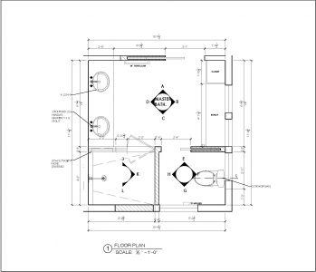 Megan Bachmann Interiors- Remodeling drawings