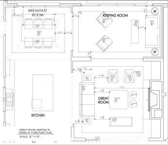 Traci Zeller Interiors- Furniture Plans